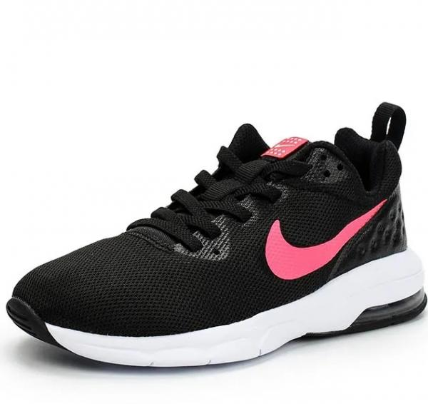 Details zu Nike Air Max Bewegung Lw ( Psw ) Mädchen Turnschuhe Schuhe Schwarz Racer Pink