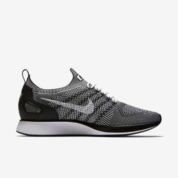 Nike Air Zoom Maria Flyknit Racer Mens Trainer Shoe White Black 11 ... 8da0893e511