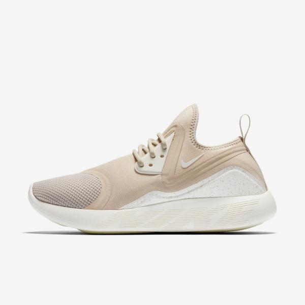 Details zu Nike Lunarcharge Essential Womens Laufenden Trainer Schuhe Größe 6,5 7 Hellbeige