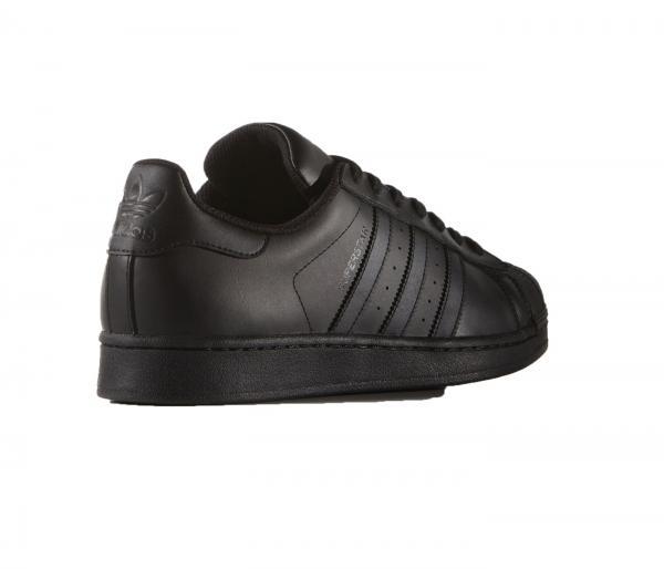 Détails sur Adidas Superstar Homme Noir Baskets Chaussure Taille 7 12 NEUF RRP £ 75 afficher le titre d'origine