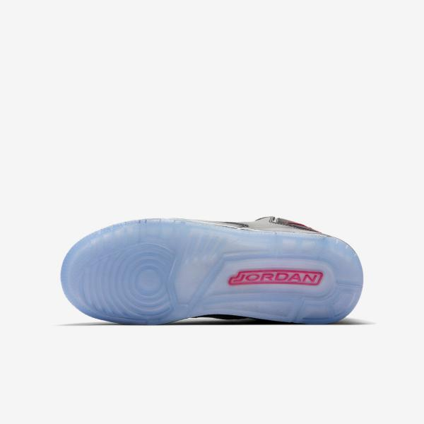 Détails sur Nike Jordan Courtside 23 Garçon Fille Basket Taille 5 5.5 Noir Gym Rouge