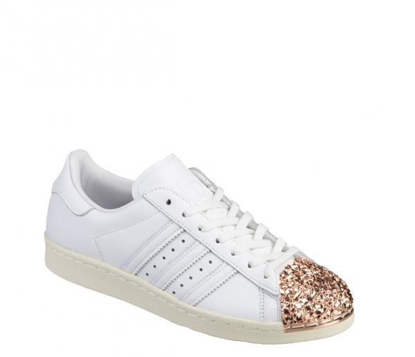 Dettagli su Adidas Superstar Donna Anni 80 Scarpe Sportive Numero 6 fino A