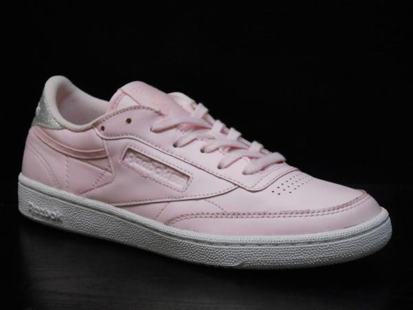 Details about Reebok Club C 85 Diamond Womens Trainer Shoe Size 6.5 Pink White