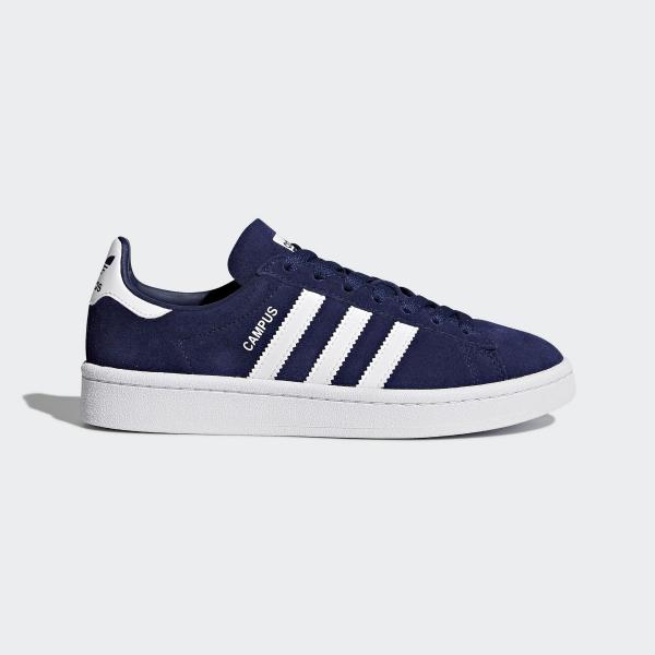 adidas Campus Juniors Boys Girls Trainer Blue Shoe 3.5 4.5 5 RRP ...