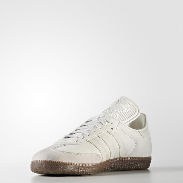 Détails sur Adidas Samba Classique Og Hommes Traienr Chaussure Taille 6 Blanc Bnwb