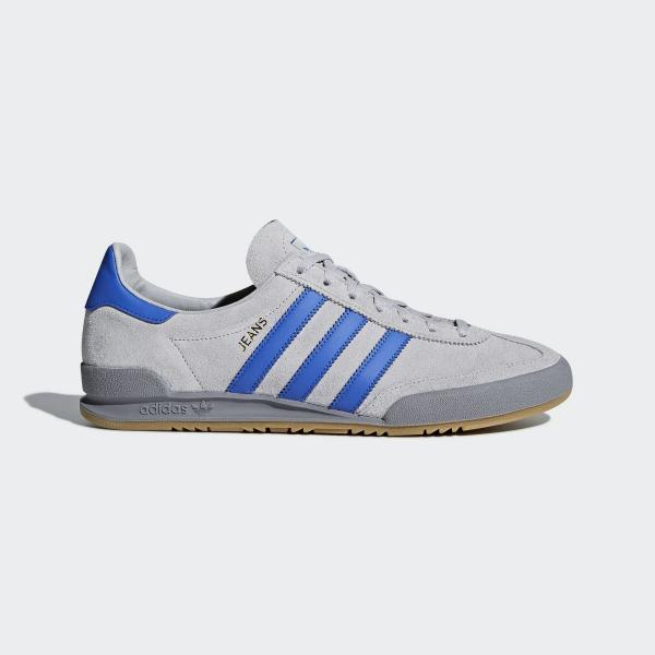 Detalles de Adidas Jeans para Hombre Zapatillas Número 8GB Gris Nuevo