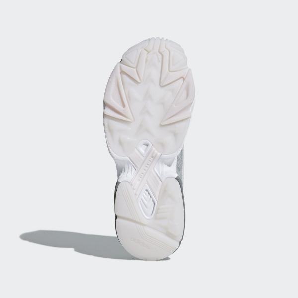 Dettagli su ADIDAS Falcon Da Donna Scarpa Da Corsa Scarpa ORTIN ARGENTO Bianco Taglia 6 8.5 RRP £ 95 mostra il titolo originale