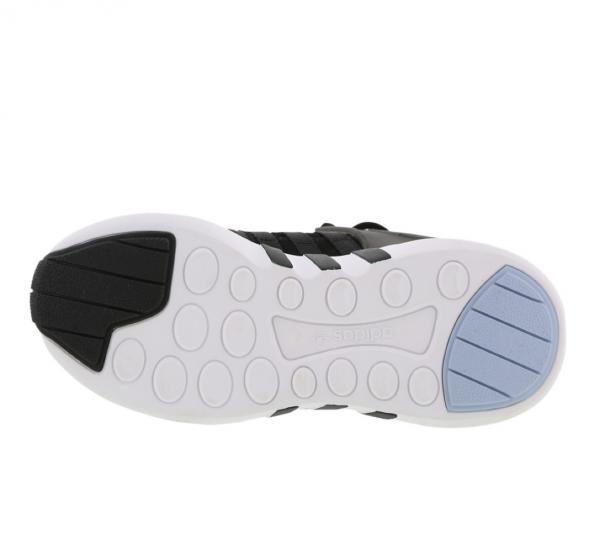 Détails sur Adidas Eqt Soutien Adv J Garçons Baskets pour Filles UK Taille 4 6 Noir Blanc