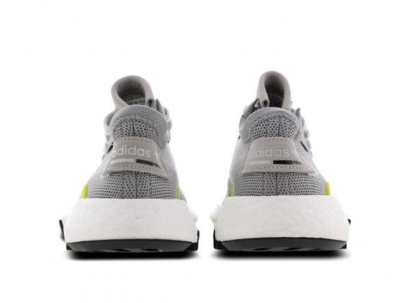 Détails sur Adidas POD S3.1. Juniors Tennis Taille 3.5 6.5 Gris Blanc