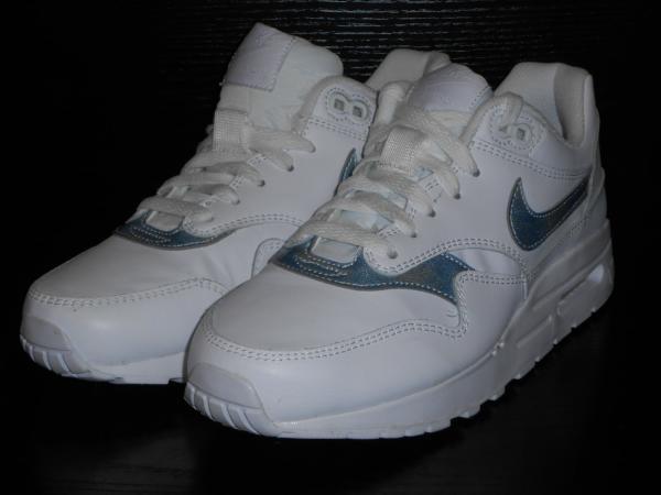 Details zu Nike Air Max 1 Jungen Mädchen Size 6 Weiß Königsblau Farbe