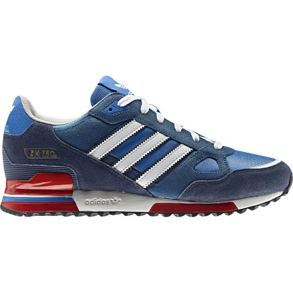 info for 12056 145ab Details about adidas ZX 750 Mens Running Trainer Shoe Royal Size 12