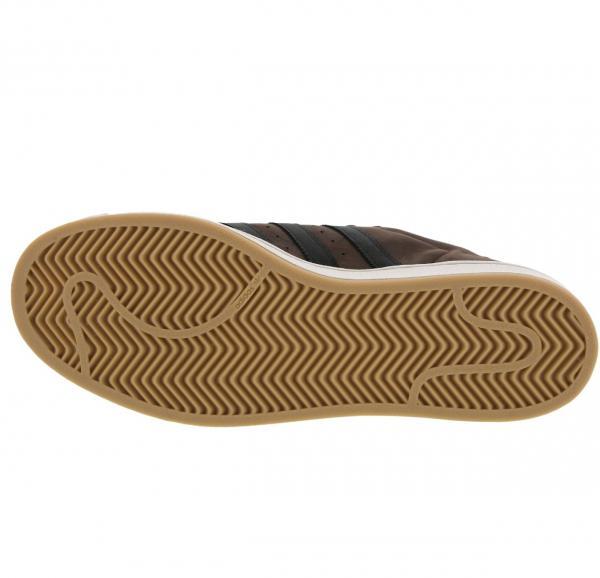 ac09381a1af1c Adidas Superstar Tennis Hommes chaussure size 7.5 MARRON NEUF   eBay