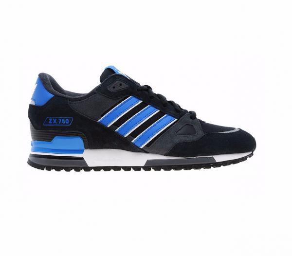 Details zu Adidas Zx 750 Herren Turnschuh Schuhe Schwarz UK Größe 8 9 10 11 12 G40159 Neu