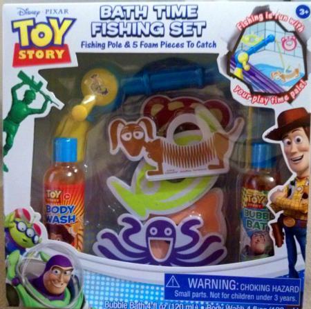TOY STORY Bubble Bath Time Fishing Set Disney Pixars NEW ...