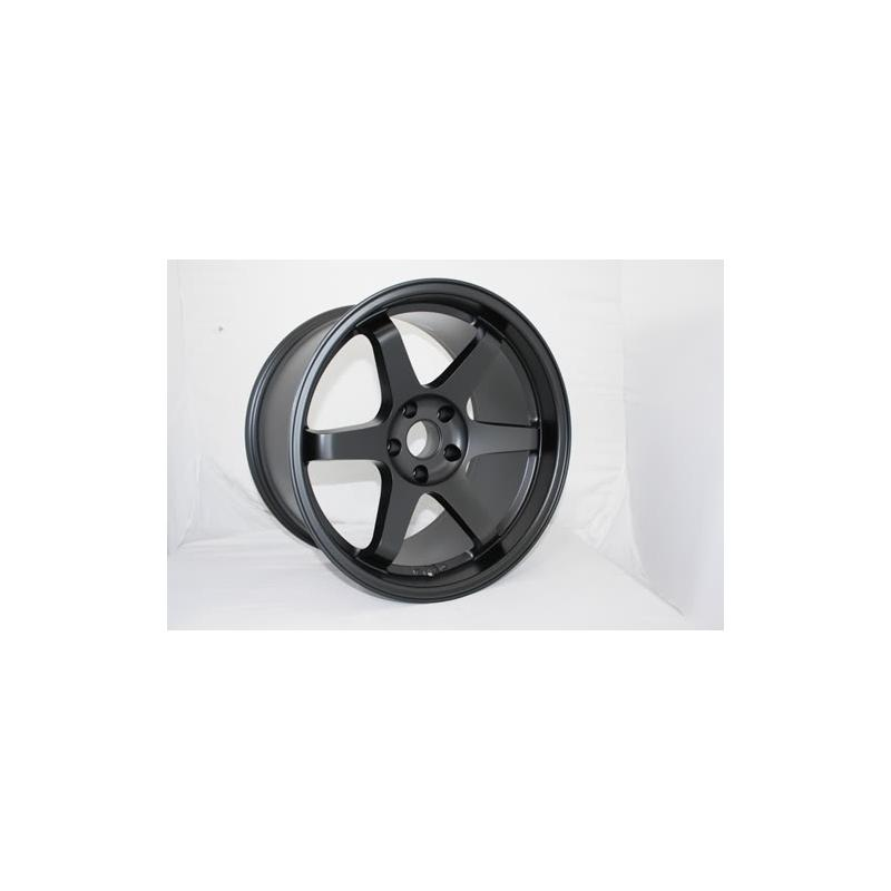 ES 2 2 0 17x9 5 4x114 3 0 Matte Black Rims Wheels New Pair