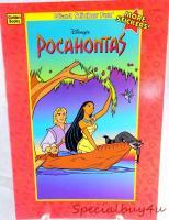 Vintage Disney Pocahontas  Sticker
