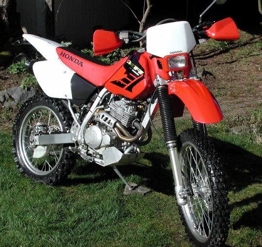 Honda Motorcycle Engine Serial Number: 2004 Honda XR250R 400 FRONT FENDER 1997 1998 1999