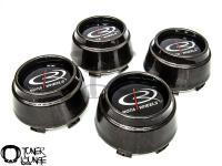ROTA WHEEL BLACK TUNER STYLE FIAT LUG NUTS