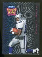 1997 Playoff Zone Frenzy #10 Emmitt Smith Dallas Cowboys Football Card