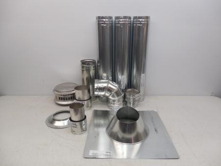 Duravent 4 Quot Vertical Vent Unit Heater Furnace Stove