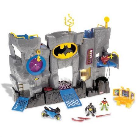 New fisher price imaginext batman batcave figures ebay for Bat box obi