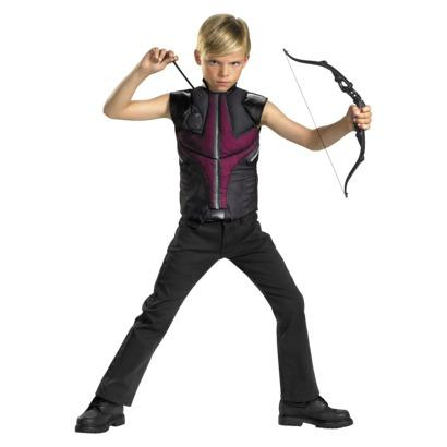 MARVEL THE AVENGERS HAWKEYE COSTUME MUSCLE TOP SIZE 4-6 ...