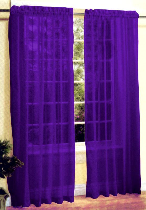 Curtains For Large Picture Windows Bright Purple Sheer Curtains