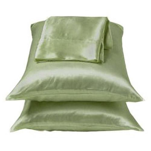 Sage Green Lingerie Satin Pillowcase Set Standard Queen Ebay