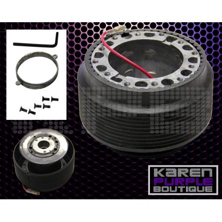 racing 6 hole adapter hub steering wheel kit celica mr2 celica tercel corolla tc ebay. Black Bedroom Furniture Sets. Home Design Ideas