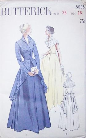 VINTAGE EVENING GOWN PATTERNS   Evening Gowns