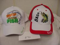 FISH SIZE MATTERS HAT  TAN PART MESH FISHING NEW