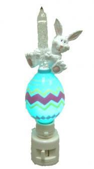Easter Bunny Egg Bubble Night Light Nightlight Roman New