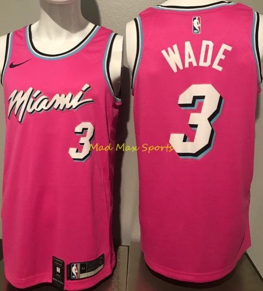finest selection ea205 11fa7 DWYANE WADE Miami HEAT Earned SUNSET Vice CITY Nike SWINGMAN Jersey Size S  40 | eBay