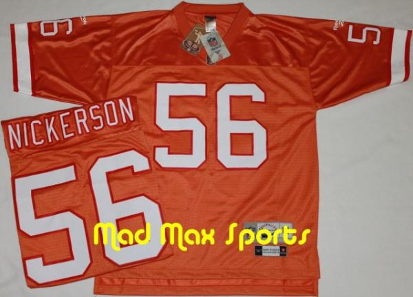 Hardy Nickerson Tampa Bay Buccaneers Reebok Creamsicle Throwback Jersey Size M 727808070720 Ebay