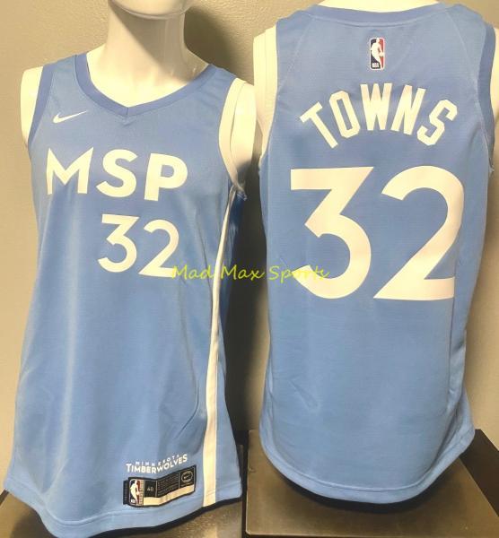 Karl Anthony Towns Minnesota Timberwolves Nike 2019 City Swingman