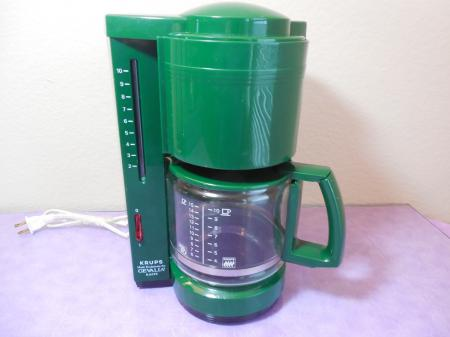 Gevalia Coffee Maker Model Ws 02at : Krups Gevalia Kaffe 396 Coffee Machine Maker 10 cup GREEN eBay
