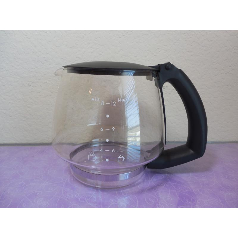 Coffee Maker Decanter Replacement : Coffee CARAFE POT Krups XP1600 Espresso Maker Machine replacement part