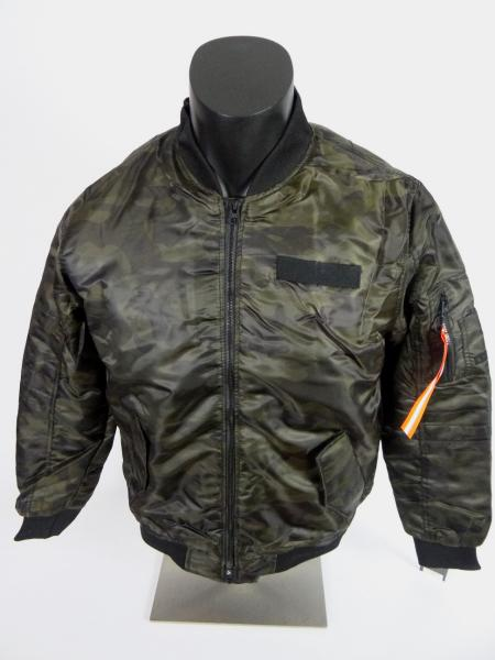 cc4b578296  70 Mens Southpole Bomber Flight Puffer Jacket in Green Camo Sleeve ...