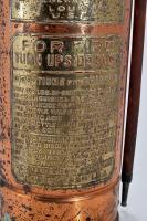 Antique Copper & Brass Fire Extinguisher The Commander St. Louis, MO