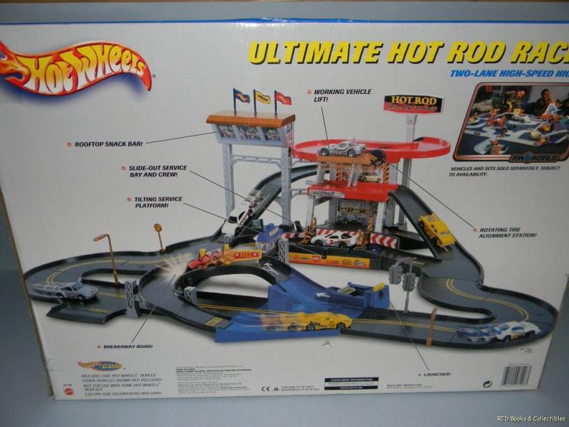 Hot Wheels Ultimate Hot Rod Racing Two Lane High Speed Highway