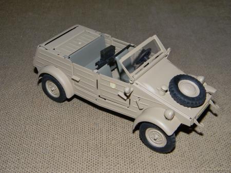 Gonio Kubelwagen VW Typ 82 Volkswagen 1:24 Scale MIB MINT ...