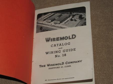 Vintage Wiremold Catalog and Wiring Guide No 18 Circa 1930s FREE ...