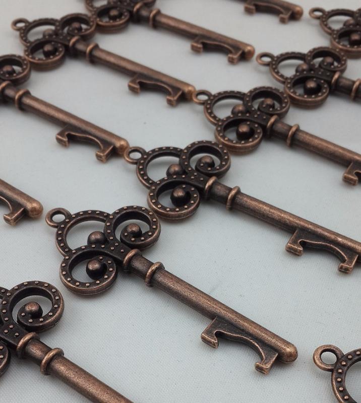 160 mix assorted vintage skeleton key bottle opener bridal shower wedding favor. Black Bedroom Furniture Sets. Home Design Ideas