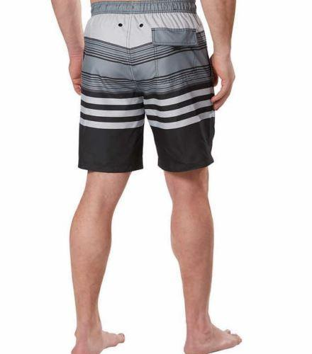 7a424b0046210 Kirkland Signature Men's Swim Short With Comfort Waistband Gray ...