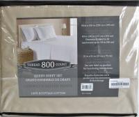 Chateau Home Collection Luxury 100/% Egyptian Cotton 800-Thread-Count Egyptian Co