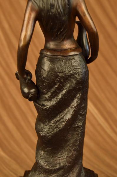 Pierre Alexandre Morlon Bronze Sculpture Female Nude Nymph