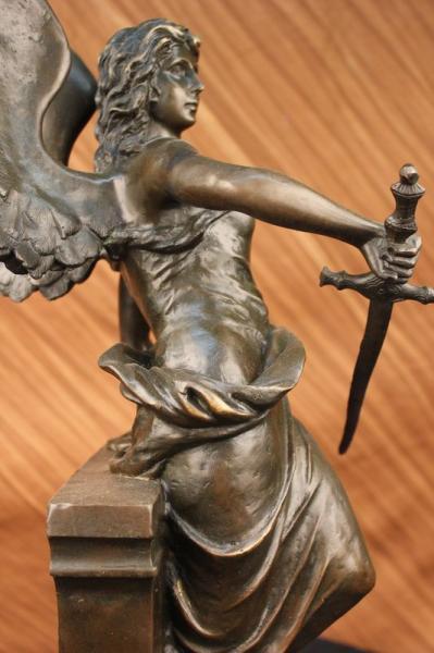 Winged Goddess Female Warrior Angel Of Victory Nike Bronze