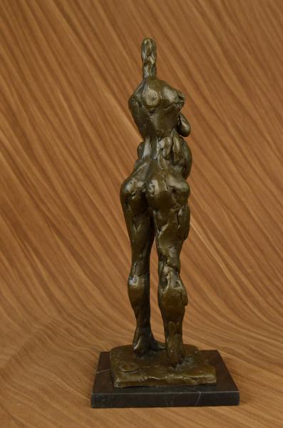 Salvador Dali Abstract Modern Art Mid Century Female