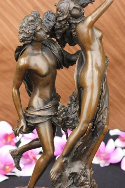 Bernini bronze statue apollo and daphne sculpture art nouveau home decor deco - Decoration romaine antique ...