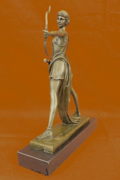 Art deco signed le faguays diana nemorensis artemis for Artemis decoration